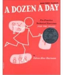 A Dozen A Day : Book Three - Transitional Edition (Book And CD), Paperback Book