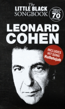 The Little Black Songbook : Leonard Cohen, Paperback Book