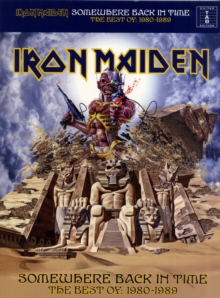 Iron Maiden : Somewhere Back in Time - the Best of 1980-1989 (Tab), Paperback Book