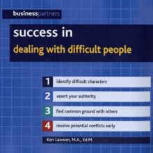 Success in Dealing with Difficult People, Paperback Book
