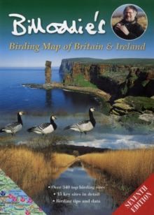 Bill Oddie's Birding Map of Britain and Ireland, Sheet map Book