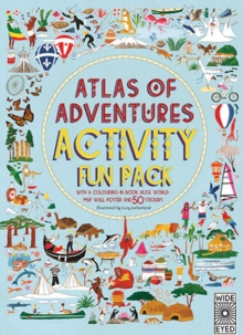 Atlas of Adventures Activity Fun Pack, Paperback Book