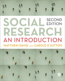Social Research : An Introduction, Paperback / softback Book