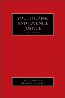 Youth Crime and Juvenile Justice, Hardback Book