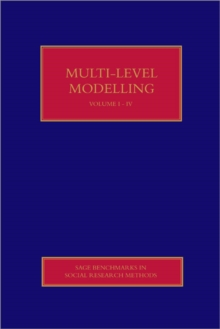 Multilevel Modelling, Hardback Book