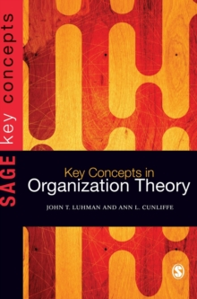 Key Concepts in Organization Theory, Hardback Book