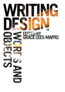 Writing Design : Words and Objects, Paperback Book