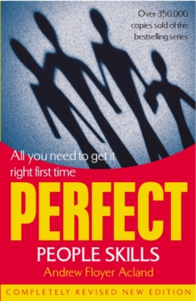 Perfect People Skills, Paperback / softback Book