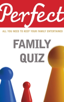 Perfect Family Quiz, Paperback Book