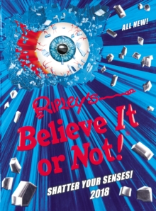 Ripley's Believe It or Not! 2018, Hardback Book