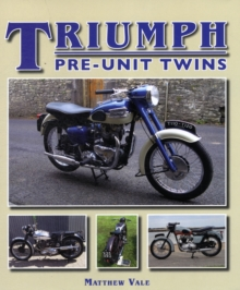 Triumph Pre-Unit Twins, Hardback Book