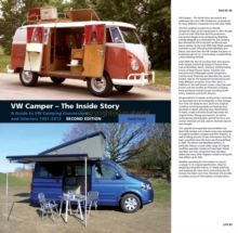 VW Camper - The Inside Story : A Guide to VW Camping Conversions and Interiors 1951-2012, Hardback Book