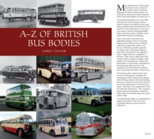 A-Z of British Bus Bodies, Hardback Book