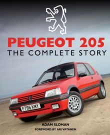 Peugeot 205 : The Complete Story, Hardback Book