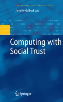 Computing with Social Trust, Hardback Book