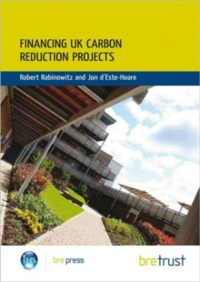 Financing UK Carbon Reduction Projects : (FB 31), Paperback / softback Book