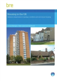Housing in the UK : National comparisons in typology, condition and cost of poor housing, Paperback / softback Book