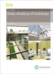 Solar Shading of Buildings, Paperback / softback Book