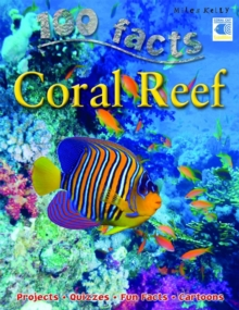 100 Facts Coral Reef, Paperback Book