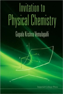 Invitation To Physical Chemistry (With Cd-rom), Hardback Book