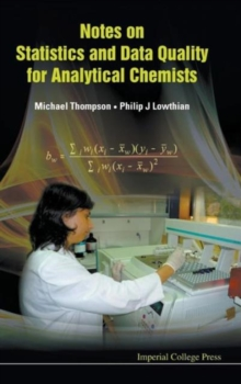 Notes on Statistics and Data Quality for Analytical Chemists, Hardback Book