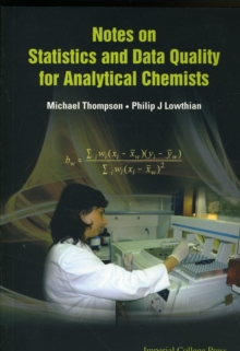 Notes On Statistics And Data Quality For Analytical Chemists, Paperback / softback Book