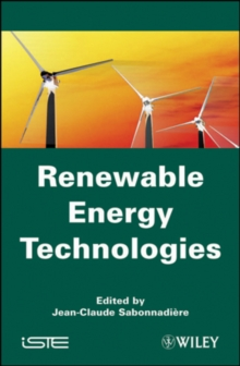 Renewable Energy Technologies, Hardback Book