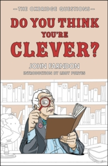 Do You Think You're Clever? : The Oxbridge Questions, Hardback Book