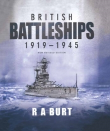 British Battleships 1919-1945, Hardback Book
