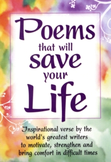 Poems That Will Save Your Life, Paperback Book