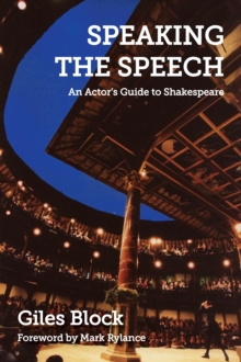 Speaking the Speech, Paperback Book