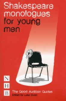 Shakespeare Monologues for Young Men, Paperback Book
