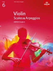 Violin Scales & Arpeggios, ABRSM Grade 6 : From 2012, Sheet music Book