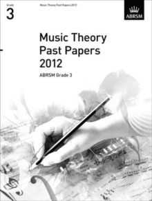Music Theory Past Papers 2012, ABRSM Grade 3, Sheet music Book