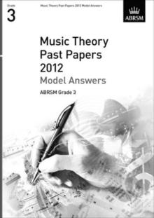 Music Theory Past Papers 2012 Model Answers, ABRSM Grade 3, Sheet music Book