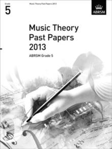 Music Theory Past Papers 2013, ABRSM Grade 5, Sheet music Book