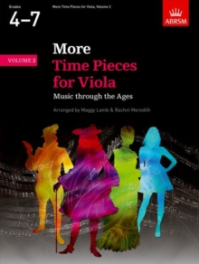 More Time Pieces for Viola, Volume 2 : Music through the Ages, Sheet music Book