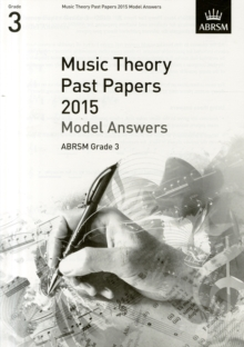 Music Theory Past Papers 2015 Model Answers, ABRSM Grade 3, Sheet music Book