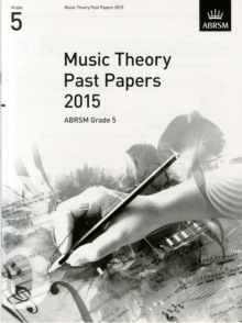 Music Theory Past Papers 2015, ABRSM Grade 5, Sheet music Book