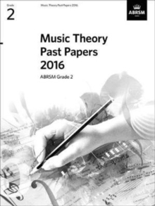 Music Theory Past Papers 2016, ABRSM Grade 6, Sheet music Book