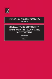 Inequality and Poverty : Papers from the Second Ecineq Society Meeting, Hardback Book