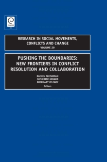 Pushing the Boundaries : New Frontiers in Conflict Resolution and Collaboration, Hardback Book