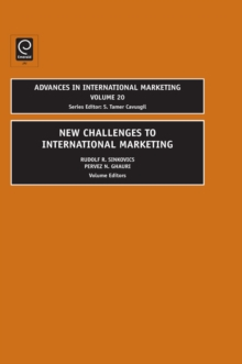 New Challenges to International Marketing, Hardback Book