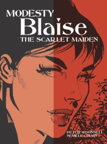 Modesty Blaise - the Scarlet Maiden, Paperback Book