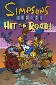 Simpsons Comics Hit the Road, Paperback Book