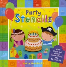 Party Stencils, Board book Book
