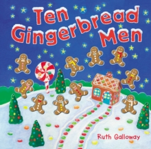 Ten Gingerbread Men, Novelty book Book