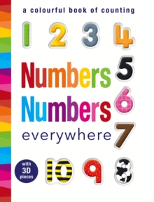 Numbers Numbers Everywhere : A Colourful Book of Counting, Novelty book Book