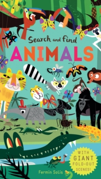 Search and Find Animals, Novelty book Book