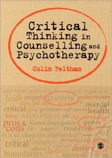 Critical Thinking in Counselling and Psychotherapy, Paperback / softback Book